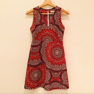 🎄NWT Abercrombie & Fitch Paisley Print Dress